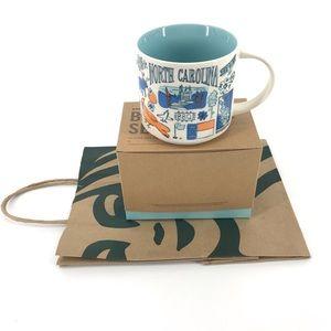 NWT Starbucks North Carolina Coffee Mug